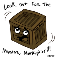 Tiny Box Tim - Markiplier by Kafae-Latte