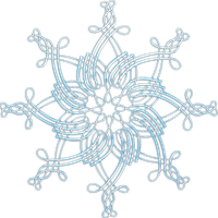 a snowflake png by Melissa-tm