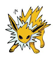 Jolteon by Jas656