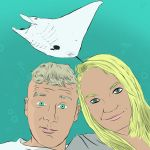 James and Ericka found a Manta Ray. by DylanBaugh