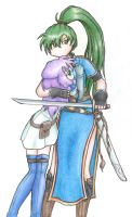 Lyn x Florina: Guardian Angel by melidichan
