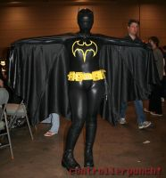 Batgirl - Open Cape by UltimaGuise