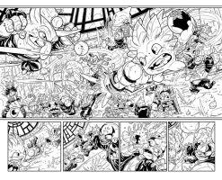 Skylanders 03 doublespread page by Fico-Ossio