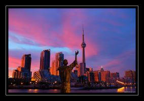 Toronto Core by martinshiver