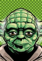 Yoda Portrait Shot by Thuddleston