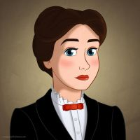 Disney Ladies: Mary Poppins by Mangsney