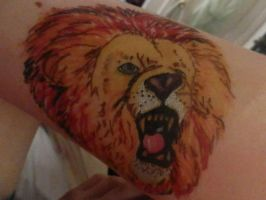 sharpie lion by Chyliethecrazy1