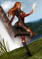 Commission: Ginny Weasley by iurypadilha
