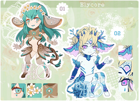 [CLOSED] Elycore auction and raffle by retrozero