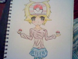 Anabell a pokemon trainer made up by me by WeabooAwesomeness
