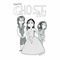 Hamilton- Ghost AU by Jell-Ofish101