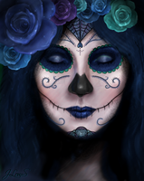 The Day Of The Dead (color version) by Amhyst