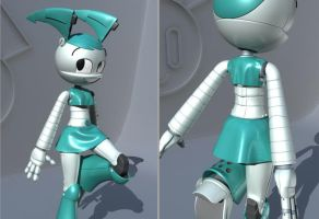 3D Jenny WIP 4 CLOTH by 14-bis