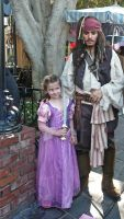 Princess and Jack Sparrow by Elle-Arden