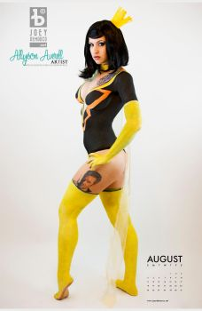 Dr. Mrs. The Monarch Body Paint by JoeyDeMarco