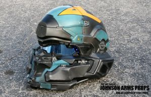 Halo 5 Agent Locke Wearable Helmet by JohnsonArms