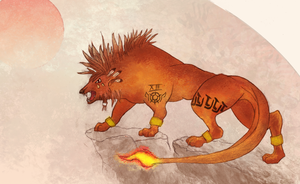 Red XIII by Idered