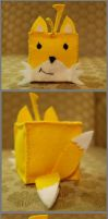 Cube: Tails by HelloBatty