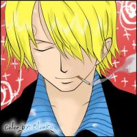Sanji-Color by Blankachan