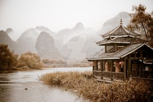 Scenic Guilin by merzzie