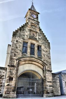 Clock tower Falkirk by BusterBrownBB