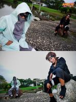 Naruto: Kiba + Shino by bluevioletapples