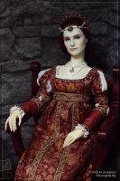 Renaissance dress by scargeear