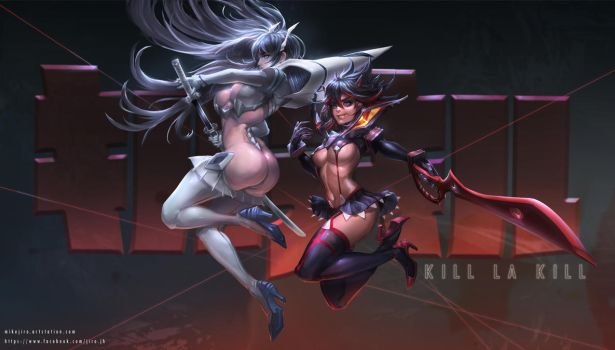 Kill la Kill FanArt by JiroJh