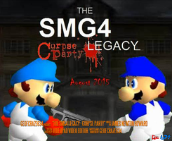 The SMG4 Legacy: Corpse Party's Final Movie Poster by Geoffman275