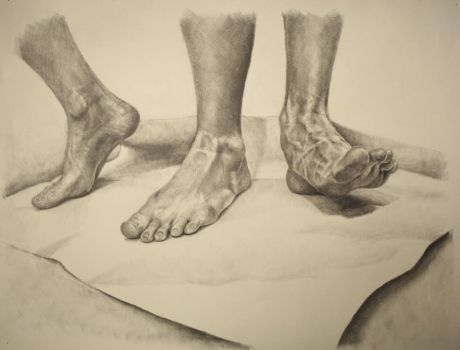 Feet by LukeGraber