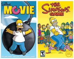 Simpsons Movie and Game Review by VGAfanatic