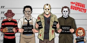 Usual Suspects Slasher Edition by b-maze
