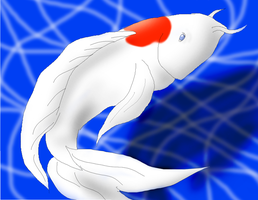 Koi Fish by Shylittleweirdo