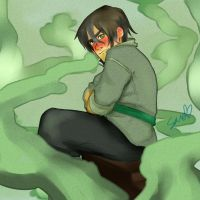 Bolin with wet hair by rikku-hime