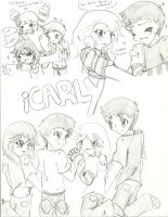 iCarly Doodles 9 by Kurofaikitty