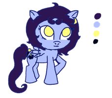 Moonshine The Pegasi Ref by FloralFantasy