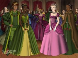 The Princess and the Frog Tudor by goldfairie