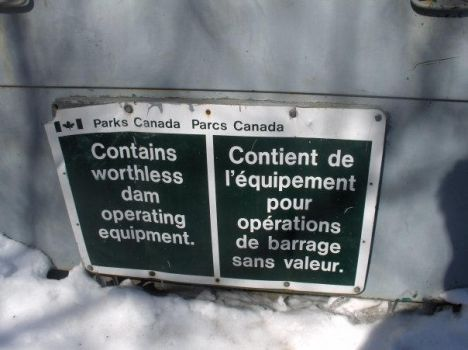 Worthless Equipment Sign by rainvine