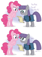 Pinkie and Maud Pie by dm29