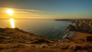near bedruthan steps by photoplace