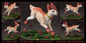 Commission : Flora's Meadow Romp by emilySculpts
