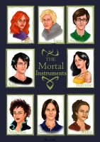 The Mortal Instruments by Bleunite