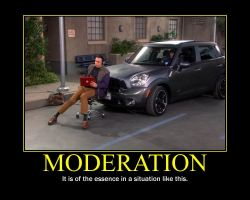Moderation Motivational Poster by QuantumInnovator