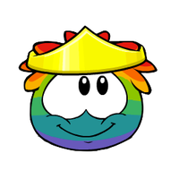 Rainbow Puffle - PNG by Elliott-Lee-Blogger