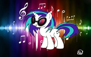Vinyl Scratch Request by Ratchet-Wrench