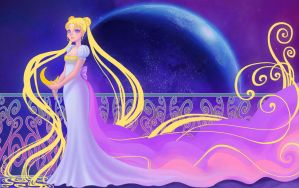 Princess Serenity by uialwen