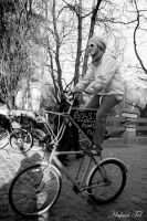 Two Storied Bicycle by WorldsInWorld
