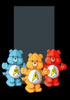 the trek-a-lot bears by nightwing1975