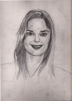Sarah Wayne Callies Portrait by Cypher-Black