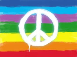Peace Flag by d3m0ni0